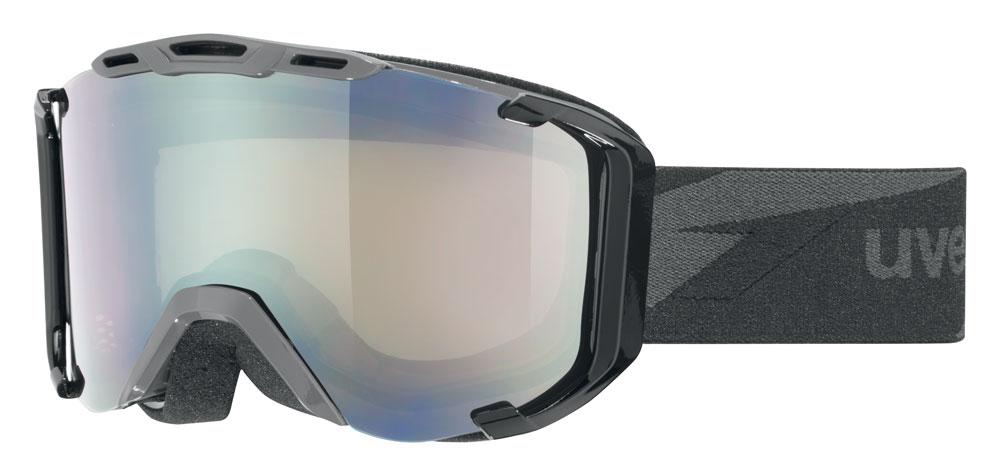 UVEX SNOWSTRIKE VM, dark grey/ltm silver S5504172023