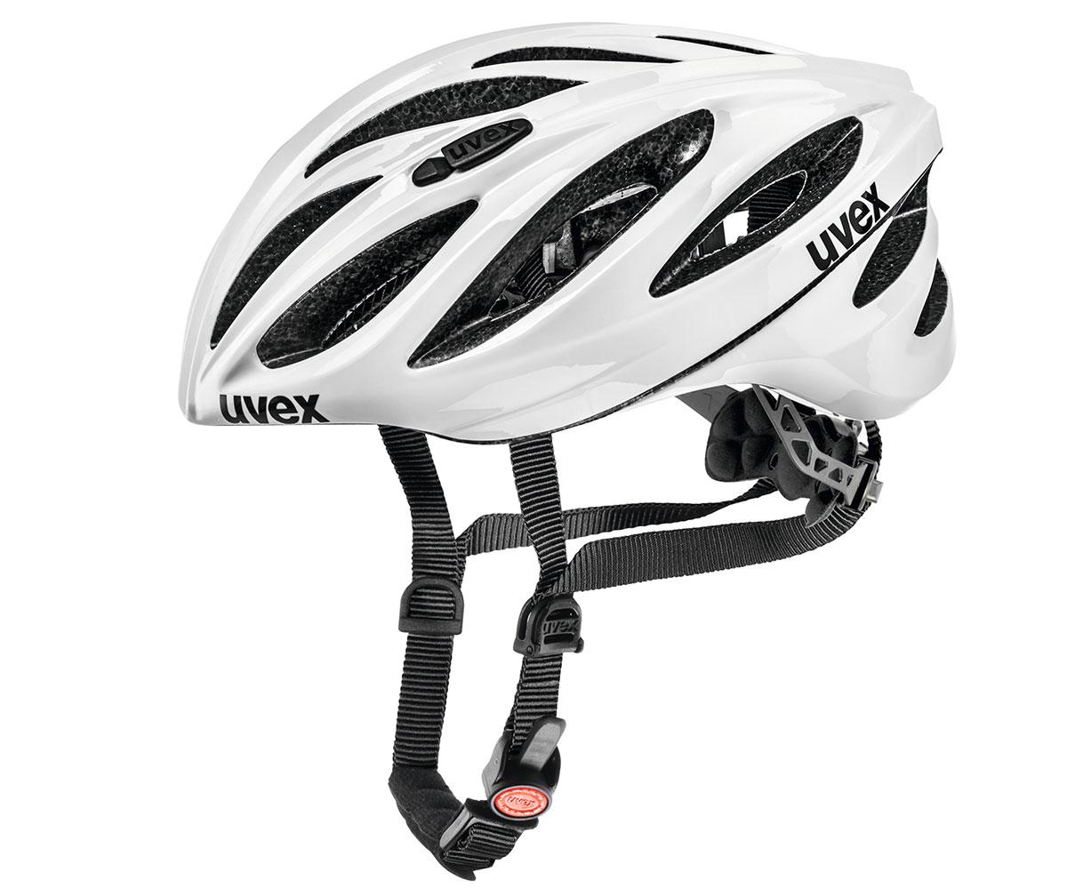 UVEX BOSS RACE, WHITE 2014 52-56 cm