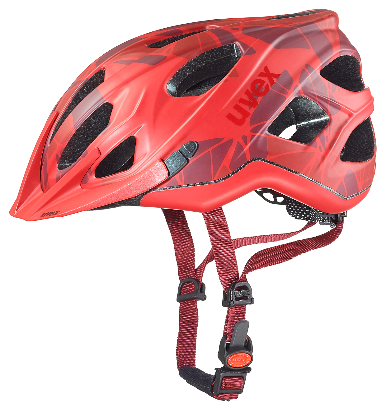 UVEX ADIGE CC, RED MAT 2016 52-57 cm