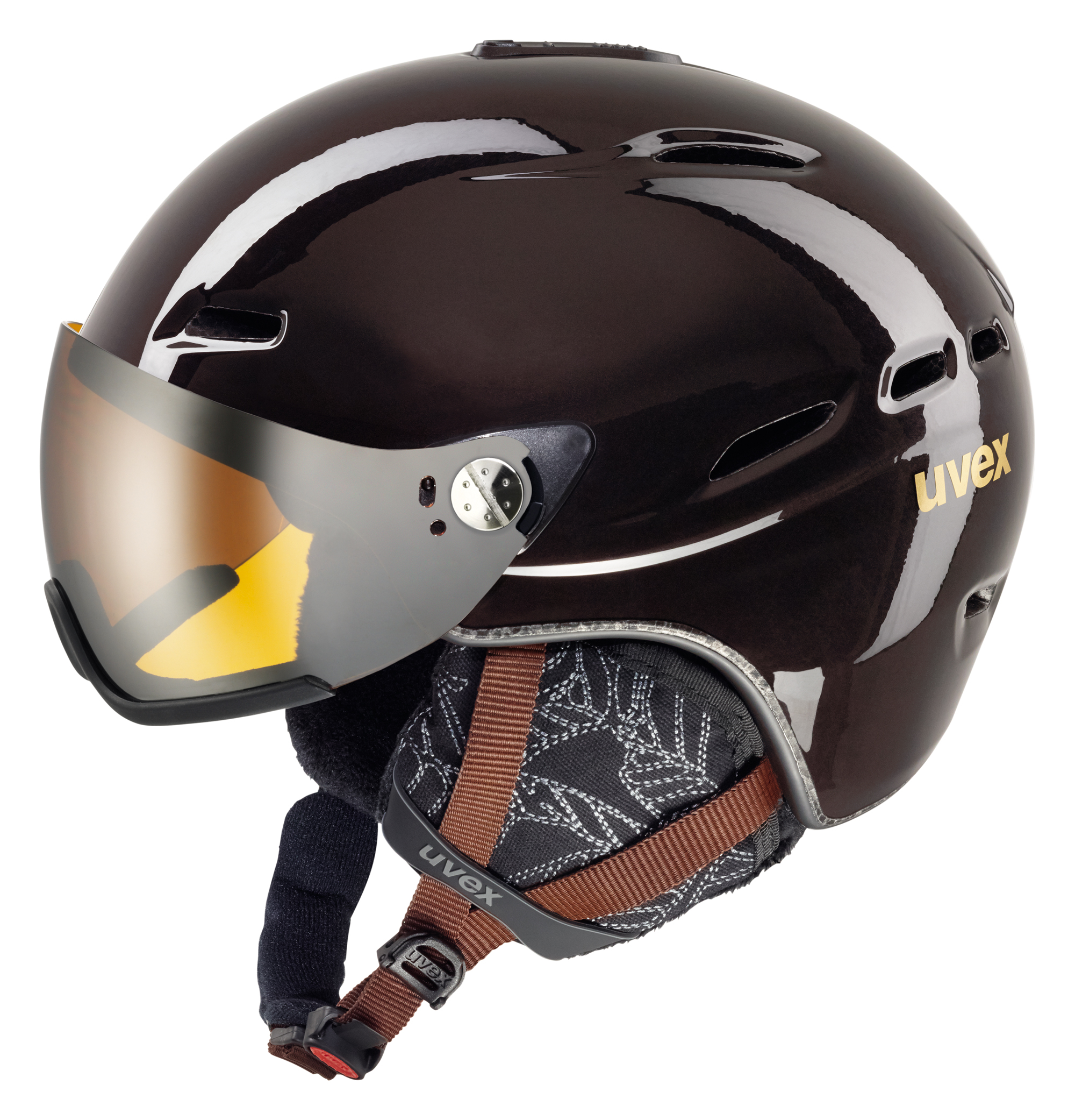 UVEX HLMT 200 WL, chocolate S566183800 55-58 cm