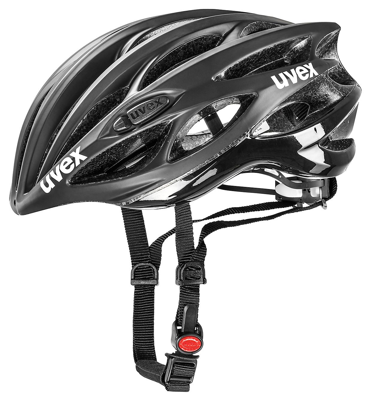 UVEX RACE 1, BLACK MAT-SHINY 2015 50-55 cm