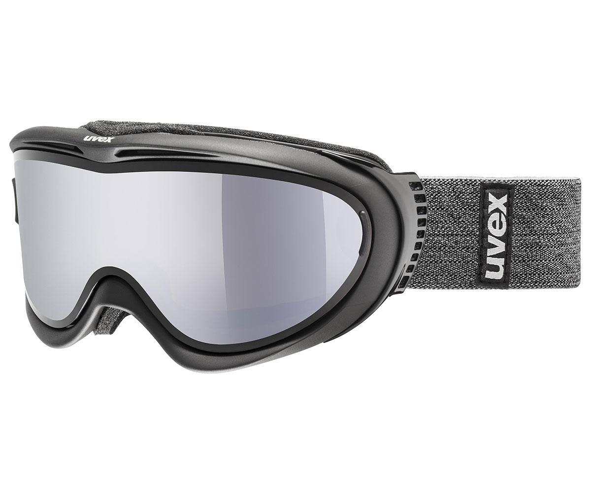 UVEX COMANCHE TAKE OFF, black mat/silver-lasergold S5512099326