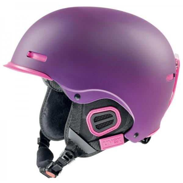 UVEX HLMT 5 PRO purple-pink mat S566146390 16/17 55-59 cm