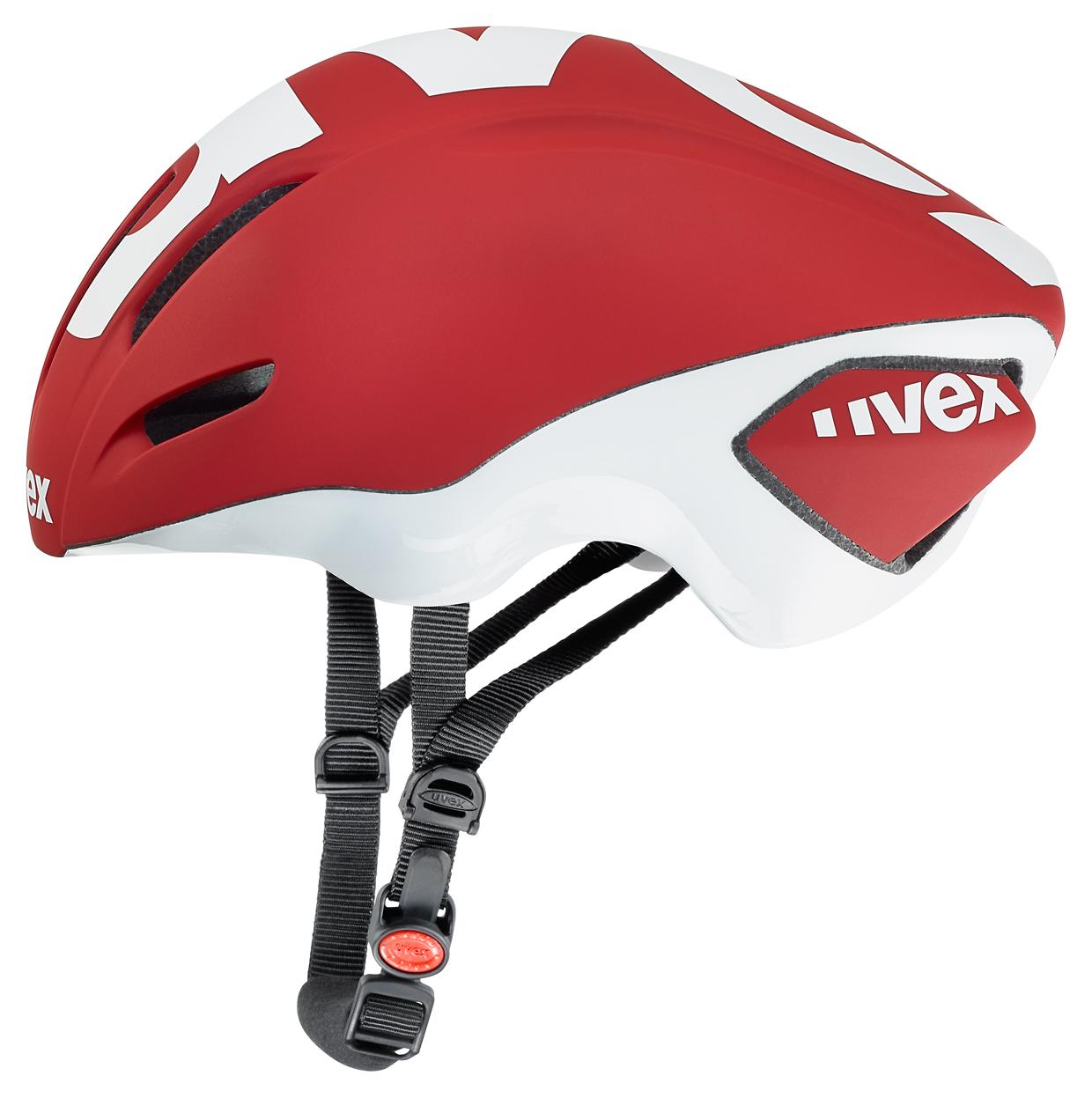 UVEX EDAero, RED MAT-WHITE 2016 57-59 cm