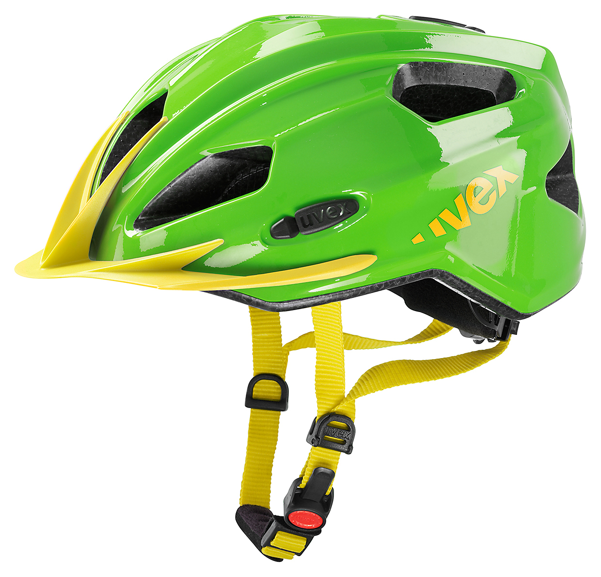 UVEX QUATRO JUNIOR, GREEN-YELLOW 2015