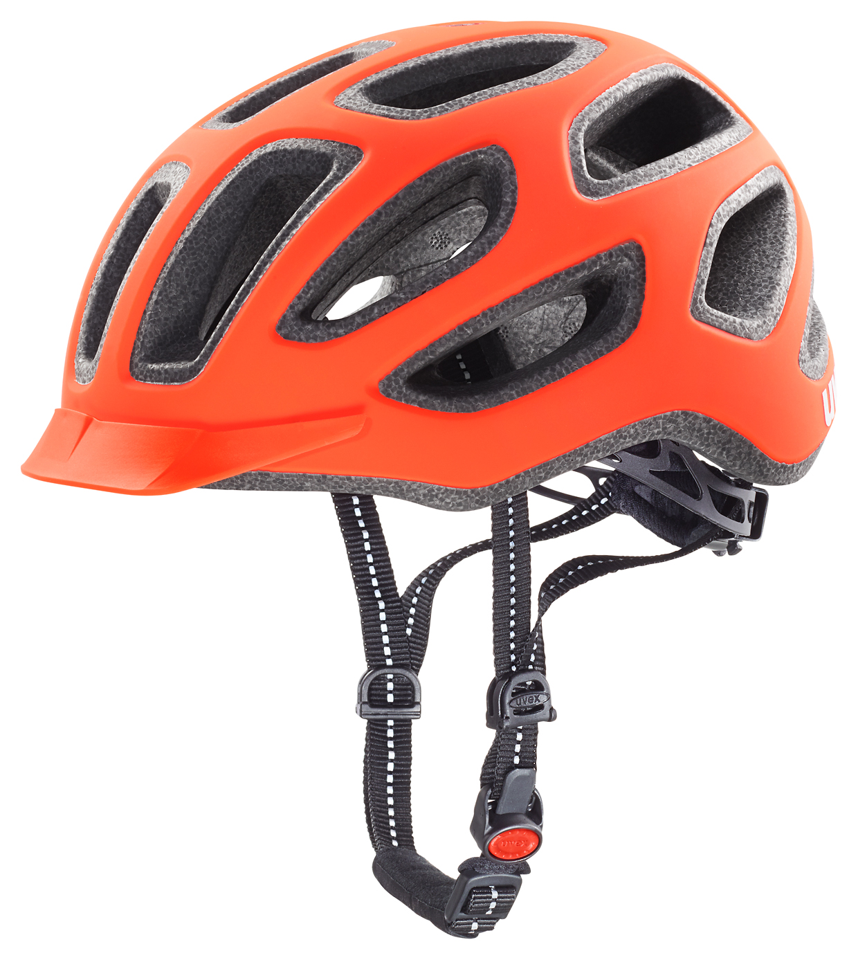UVEX HELMA CITY E, NEON ORANGE MAT 2016 52-57 cm