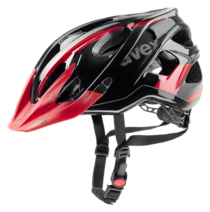 UVEX STIVO C, BLACK-RED 2017 52-57 cm