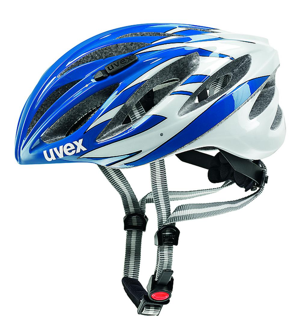 UVEX BOSS RACE, BLUE-WHITE 2014 52-56 cm