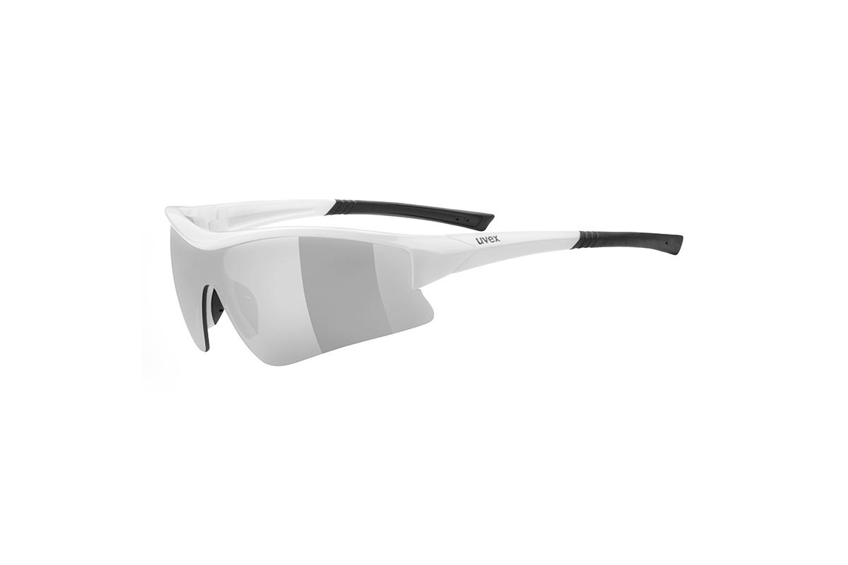 UVEX SGL 103, WHITE BLACK/SILVER