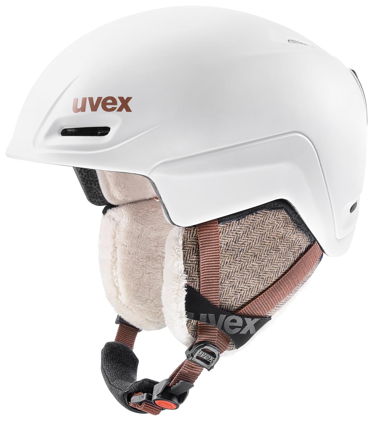 UVEX JIMM white mat loden S566206110 55-59 cm