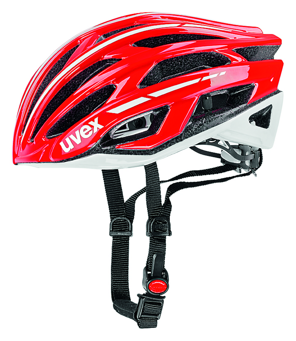 UVEX RACE 5, RED-WHITE 2014 52-55 cm