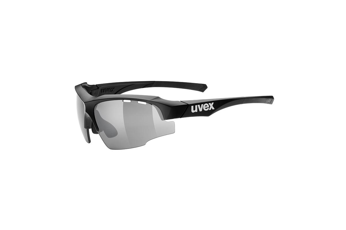 UVEX SGL 107, BLACK MATT/SILVER