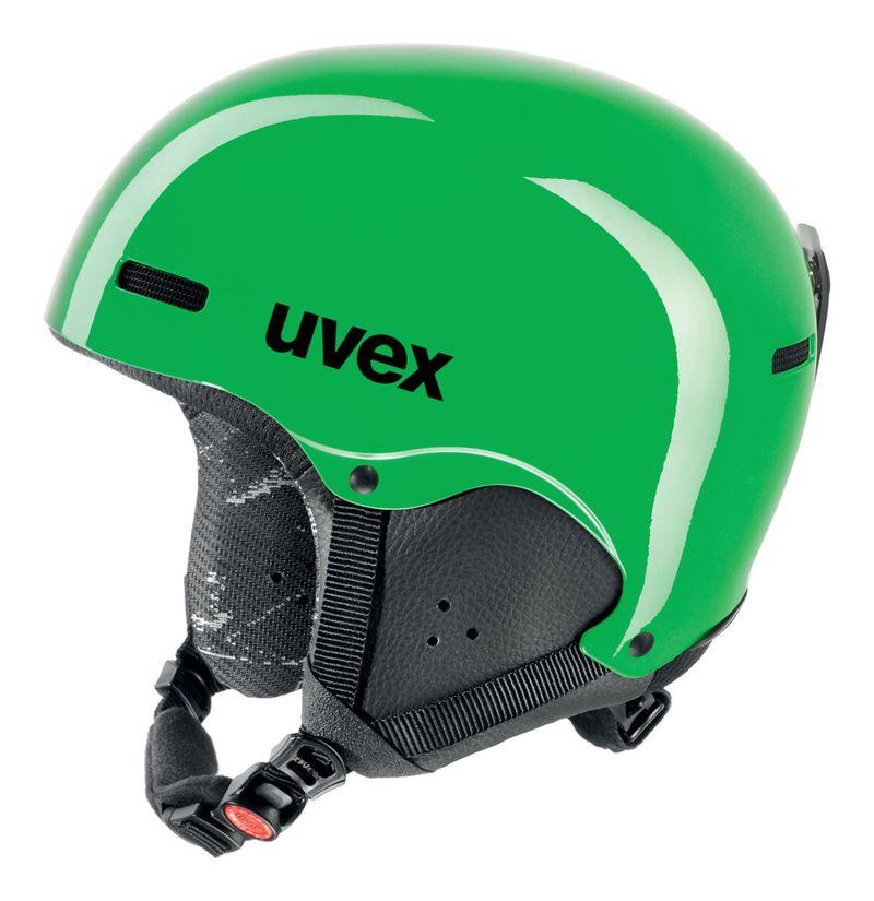 UVEX HLMT 5 JUNIOR, green S566154770 16/17 52-55 cm
