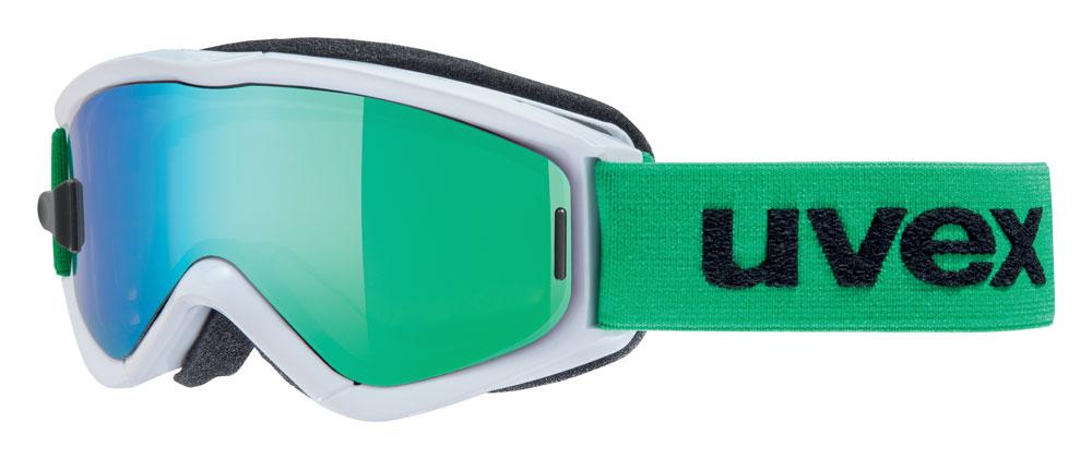UVEX SPEEDY PRO TAKE OFF, white-green/ltm green S5538231726