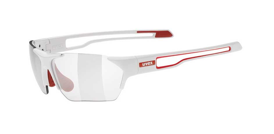 UVEX SPORTSTYLE 202 SMALL VARIO WHITE RED/SMOKE