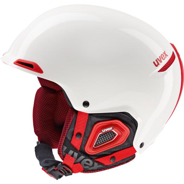 UVEX JAKK+ white/red S566182130 55-59 cm