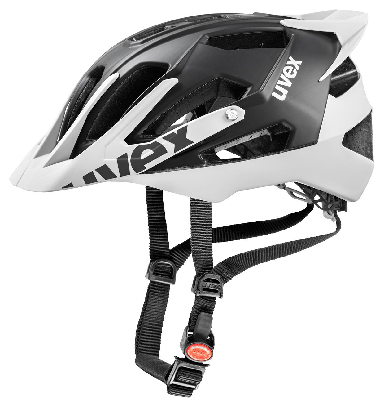 UVEX QUATRO PRO, BLACK-WHITE MAT 2015 53-57 cm