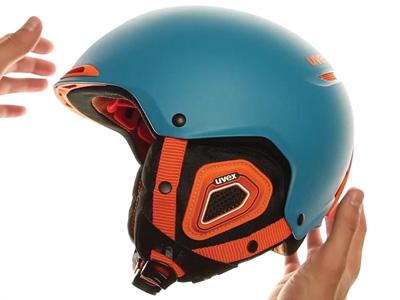 UVEX JAKK+ petrol-orange mat S56...