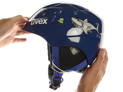 UVEX AIRWING 2, blue shark S5661...