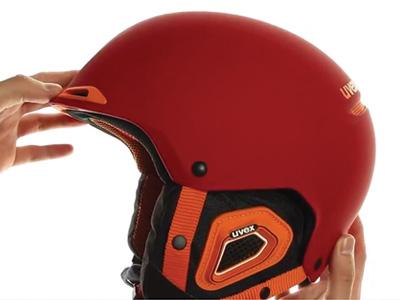 UVEX JAKK+ red-orange mat S56618...