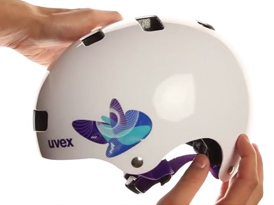 UVEX KID III, BUTTERFLY BLUE